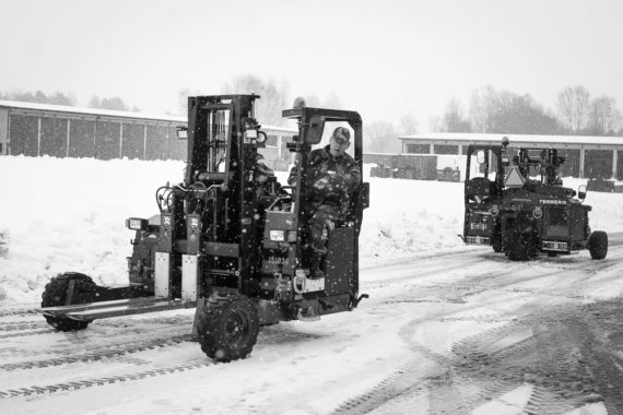 MSE Truck mounted forklifts