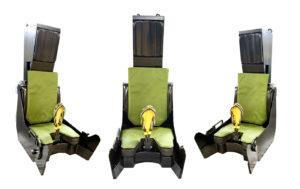 MSE Gripen ejector seats simulator