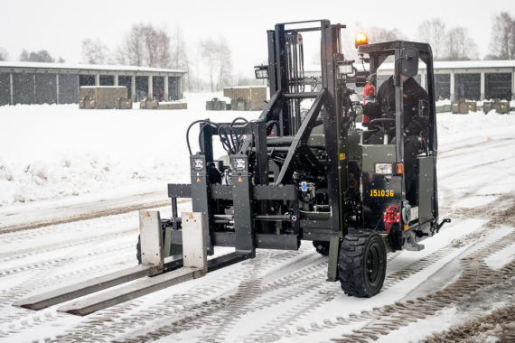 MSE Truck mounted forklift