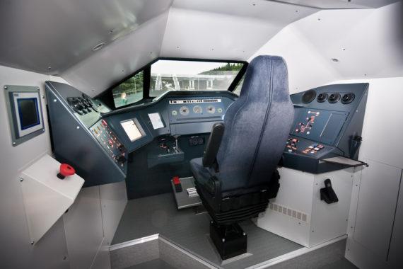 MSE Train driver simulator